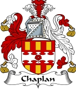 Chaplan Family Crest / Chaplan Coat of Arms JPG Download