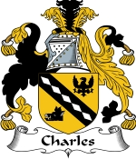 Charles Family Crest / Charles Coat of Arms JPG Download