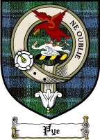 Pye Clan Badge / Tartan FREE preview
