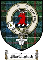 Macclintock Clan Macdougall Clan Badge / Tartan FREE preview