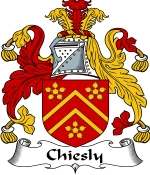 Chiesly Family Crest / Chiesly Coat of Arms JPG Download