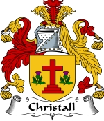 Christall Family Crest / Christall Coat of Arms JPG Download