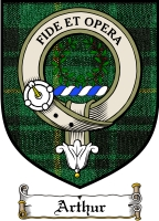 Arthur Clan Badge / Tartan FREE preview