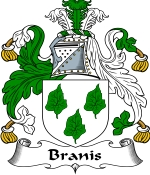 Branis Family Crest / Branis Coat of Arms JPG Download