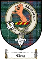 Clyne Clan Badge / Tartan FREE preview