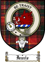 Innie Clan Badge / Tartan FREE preview