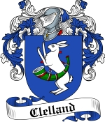 Clelland Family Crest / Clelland Coat of Arms JPG Download