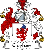 Clephan Family Crest / Clephan Coat of Arms JPG Download