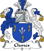 Clunes Family Crest / Clunes Coat of Arms JPG Download