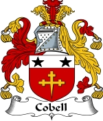 Cobell Family Crest / Cobell Coat of Arms JPG Download