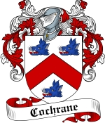 Cochrane Family Crest / Cochrane Coat of Arms JPG Download
