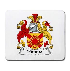 Nimmo Coat of Arms Mouse Pad
