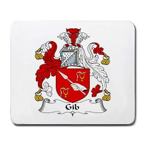 Gib Coat of Arms Mouse Pad