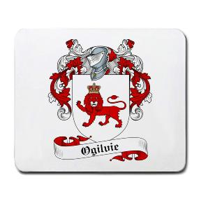 Ogilvie Coat of Arms Mouse Pad