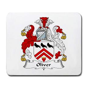 Oliver Coat of Arms Mouse Pad