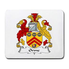 Orme Coat of Arms Mouse Pad