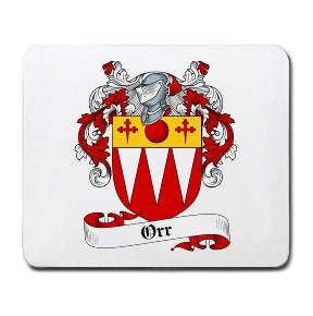 Orr Coat of Arms Mouse Pad