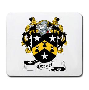 Orrock Coat of Arms Mouse Pad