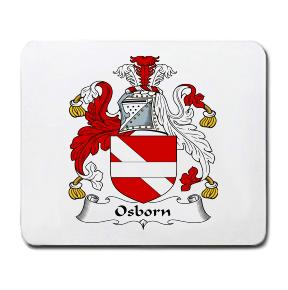 Osborn Coat of Arms Mouse Pad