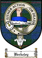 Berkeley Clan Badge / Tartan FREE preview