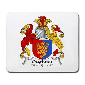 Oughton Coat of Arms Mouse Pad