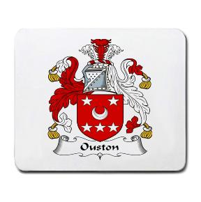 Ouston Coat of Arms Mouse Pad