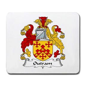 Outram Coat of Arms Mouse Pad