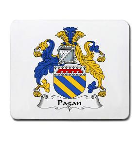 Pagan Coat of Arms Mouse Pad