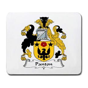 Panton Coat of Arms Mouse Pad