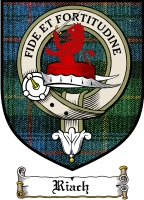 Riach Clan Macdonald Clan Badge / Tartan FREE preview