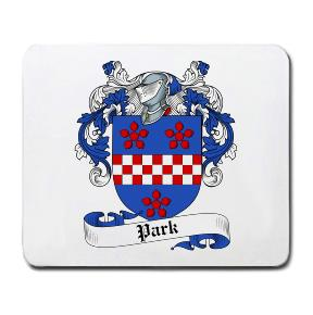 Park Coat of Arms Mouse Pad