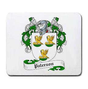 Paterson Coat of Arms Mouse Pad