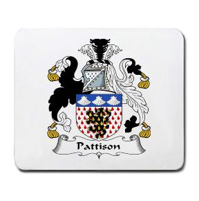 Pattison Coat of Arms Mouse Pad