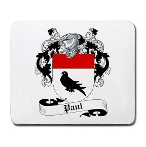 Paul Coat of Arms Mouse Pad