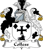Colless Family Crest / Colless Coat of Arms JPG Download