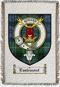 Esslemont Clan Badge Throw Blanket