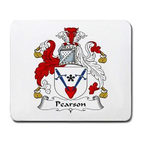 Pearson Coat of Arms Mouse Pad