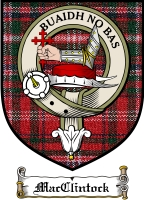 Macclintock Clan Badge / Tartan FREE preview