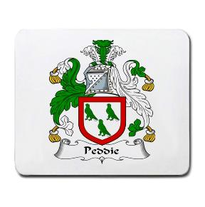 Peddie Coat of Arms Mouse Pad