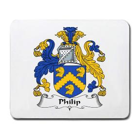 Philip Coat of Arms Mouse Pad