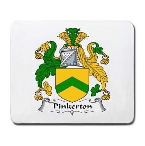 Pinkerton Coat of Arms Mouse Pad