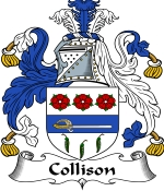 Collison Family Crest / Collison Coat of Arms JPG Download