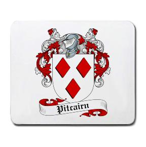 Pitcairn Coat of Arms Mouse Pad