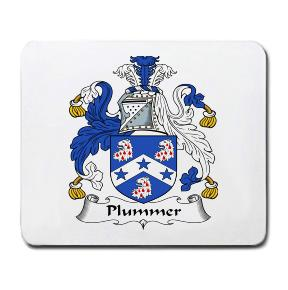 Plummer Coat of Arms Mouse Pad