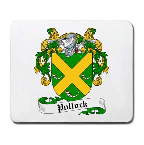Pollock Coat of Arms Mouse Pad