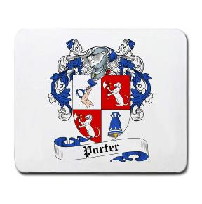 Porter Coat of Arms Mouse Pad