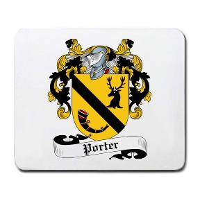 Porterfield Coat of Arms Mouse Pad