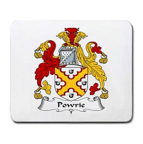 Powrie Coat of Arms Mouse Pad