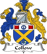 Collow Family Crest / Collow Coat of Arms JPG Download