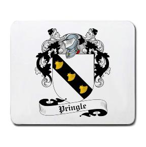 Pringle Coat of Arms Mouse Pad